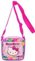 Hello Kitty Shoulder Pouch With Wallet: Tropical Adventure - $30.00