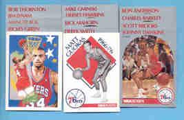 1990/91 Hoops Philadelphia 76ers Basketball Team Set  - $2.50