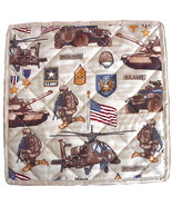 US Army Hot Pad, military potholder placemat ki... - $14.95