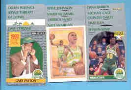1990/91 Seattle Supersonics Basketball Team Set  - $3.00