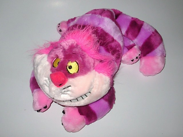 Primary image for Disney Store Plush Alice in Wonderland Cheshire Cat Grinning