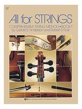 All For Strings Book 1 Violin. Partitions pour Ensemble d'École, Ensembl... - $6.77