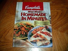 Mm Mm Homemade In Minutes Campbells Cookbook - $4.50