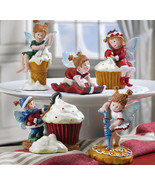 5pc Treat Fairy Kitchen Baking Collectible Holiday Figurines - $19.75
