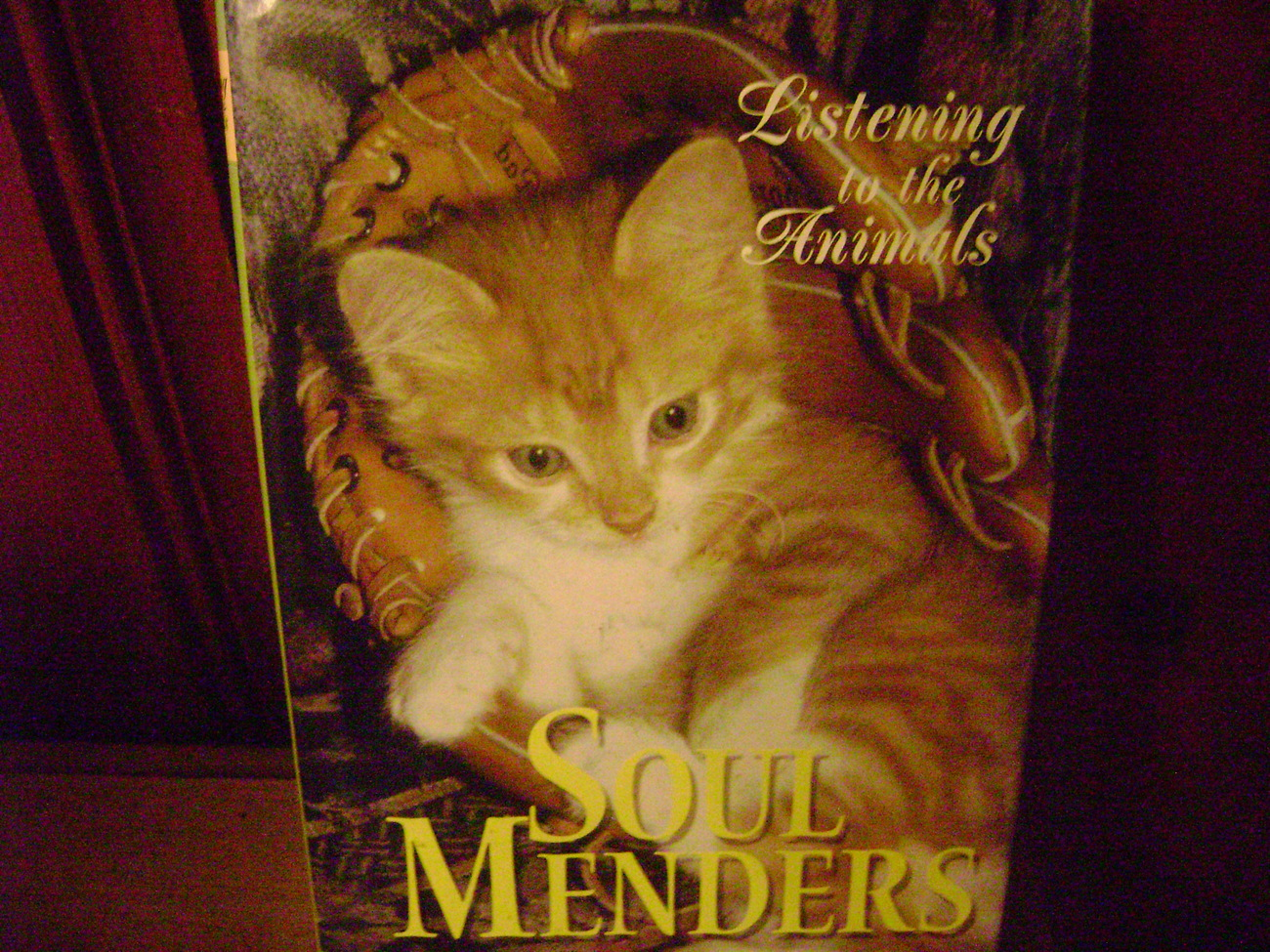 "Primary image for Soul Menders  ""Listening to the Animals""  A Guideposts Book HC/DJ"