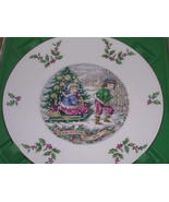 Royal Doulton Christmas Plate 1979 Sleigh Ride - $36.15