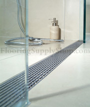 Quartz shower drain linear wedge thumb200