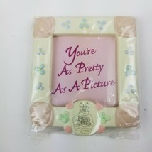 Enesco Precious Moments Pretty as a Picture photo magnet Frame Collector... - $13.95