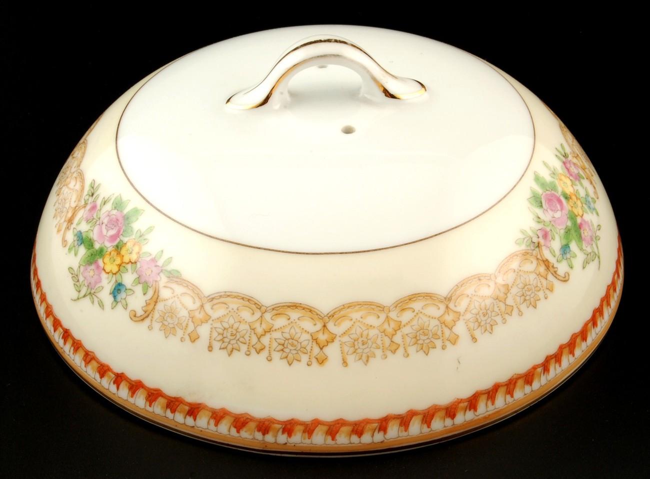 Noritake butter dish lid