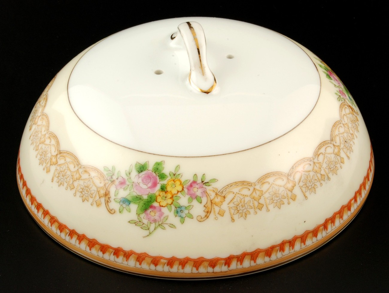 Noritake Round Domed Butter Dish Cover Lid Only No Bottom New Meito