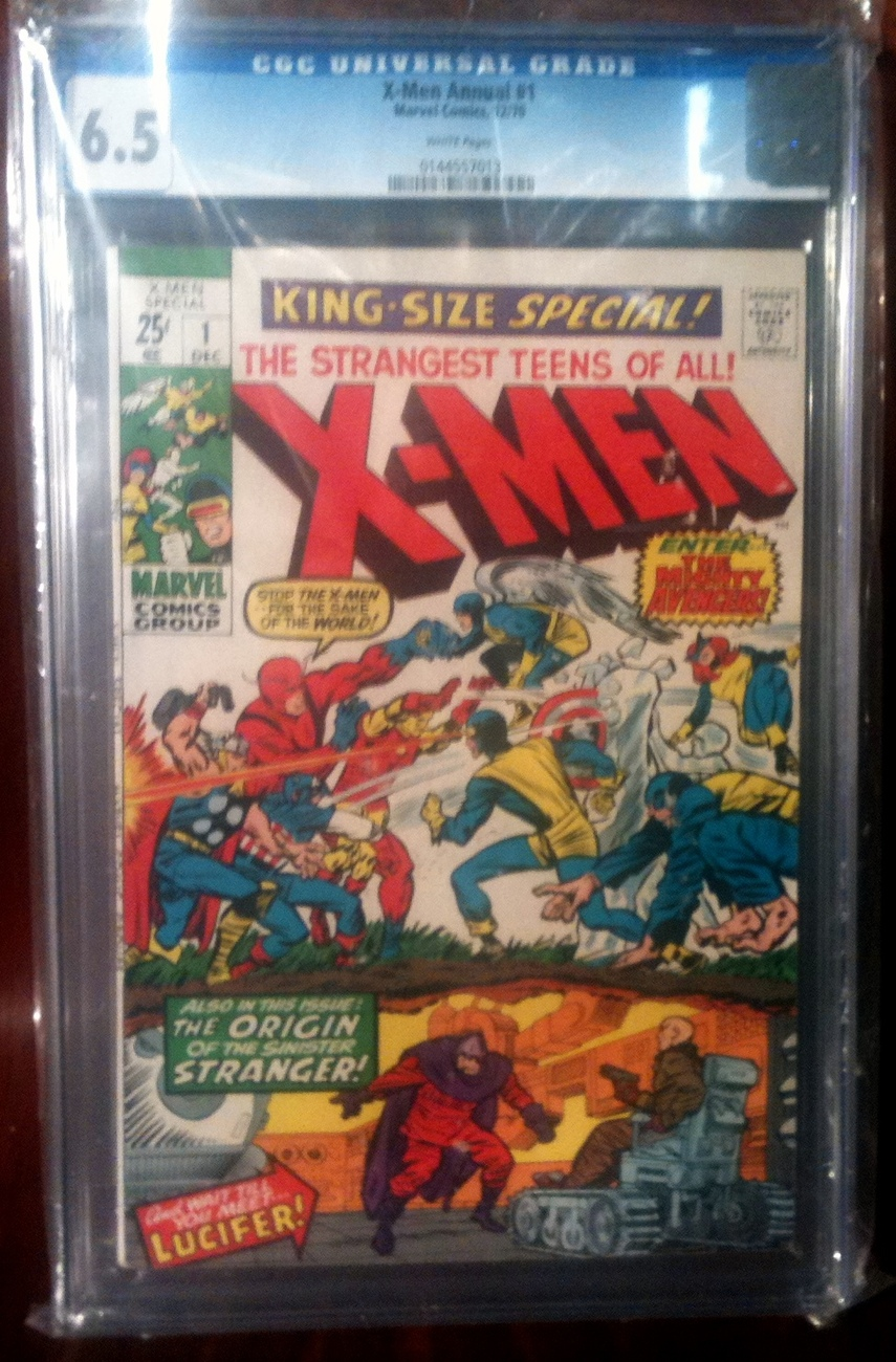 X-Men Annual # 1 CGC Graded 6.5 FINE+