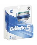 Gillette 5 Men's Razor Blade Refills pack of 4 - $7.70
