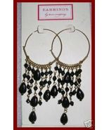 Two's Company Hoop Chandelier Pierced Earrings NEW - $17.42