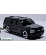 KEY CHAIN BLACK CHEVY SUBURBAN PORTE CLE NOIRE FBI/CSI/CIA - $34.95