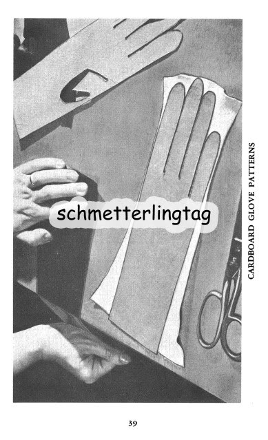 Glove Making Book Make Retro Era Leather Fabric Gloves Instructions CLOSE 1950