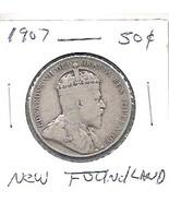 Nice rare 1907 New Foundland Half - $15.00