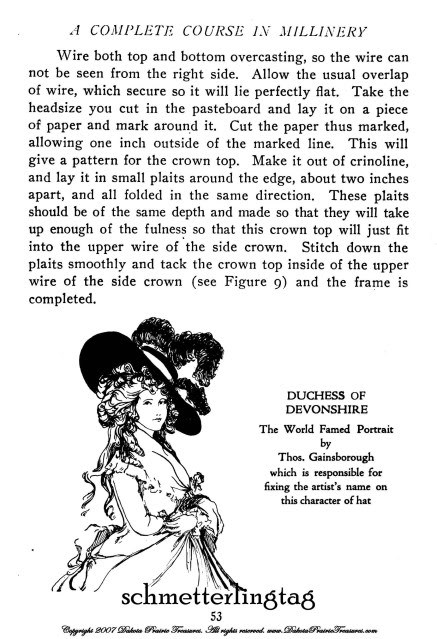Millinery Book Hat Making How to Make Flapper Era Hats 1919 Titanic Milliner