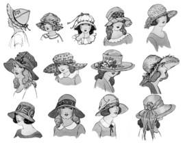 Millinery Book Make Flapper Era Child Childrens Hat Making Milliner Guide 1924 image 4