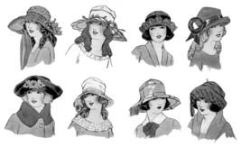 Millinery Book Make Flapper Era Child Childrens Hat Making Milliner Guide 1924 image 5