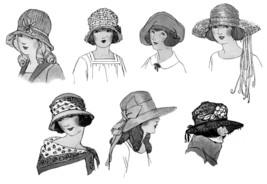 Millinery Book Make Flapper Era Child Childrens Hat Making Milliner Guide 1924 image 6