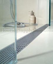 Quartz Linear Drain Linear Wedge 55 Plain Edge - $1,069.00
