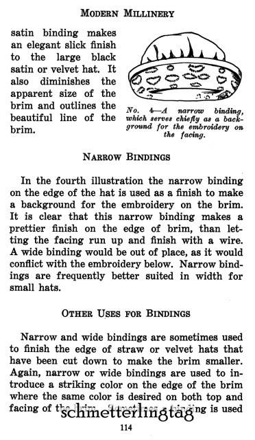 Modern Millinery Hat Making Book Make Flapper Era Style Hats 1922 Milliner Guide image 5