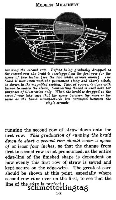 Modern Millinery Hat Making Book Make Flapper Era Style Hats 1922 Milliner Guide image 6