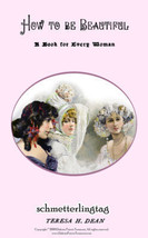Victorian Era Book How to Beautiful Guide Historic Study Gibson Girls 1899 - $14.99