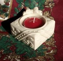 "Lenox Yuletide Glowlites ""Package"" Tea Light   New Without Box!! - $3.99"