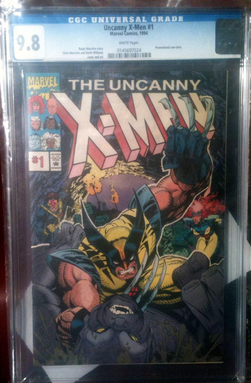 Uncanny X-Men # 1 Pro Action Promotional One Shot 1994 CGC Graded 9.8 NM++