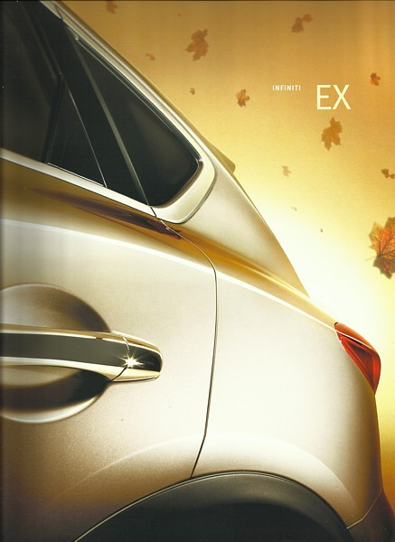 2008 Infiniti EX sales brochure catalog US 08 EX35