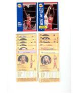 1991/92 Fleer Houston Rockets Basketball Set  - $1.99
