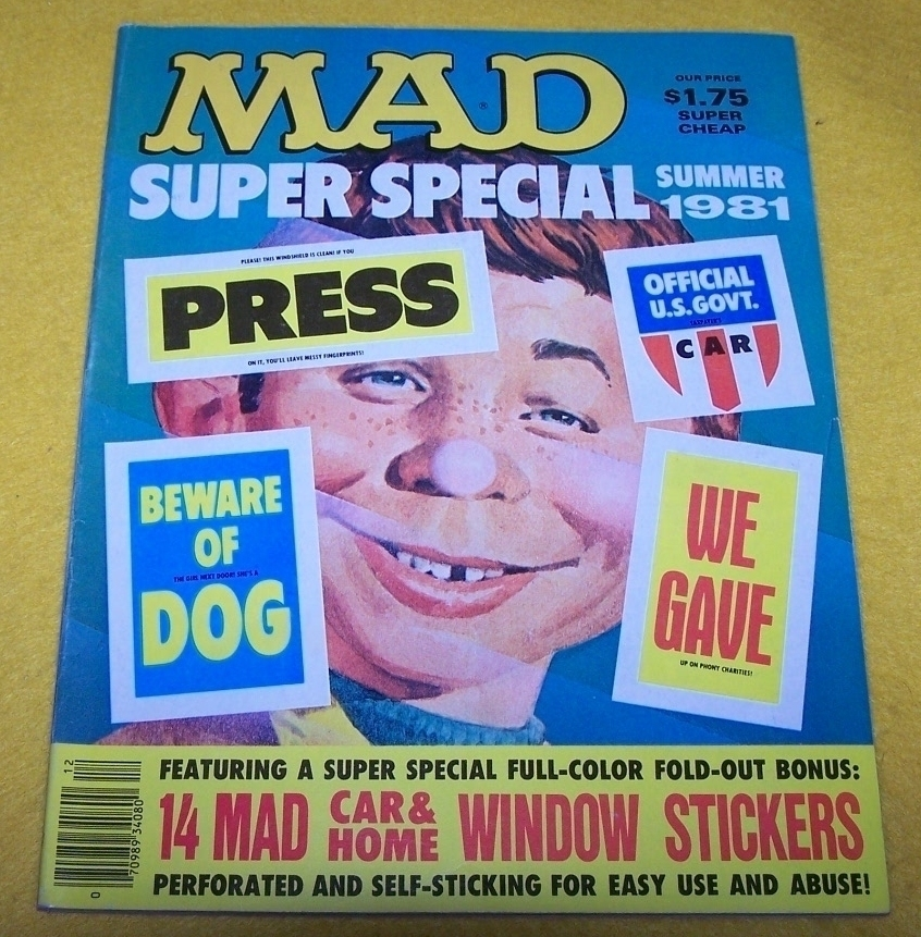 Books mad summer1981