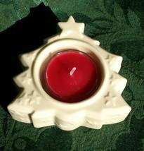 "Lenox Yuletide Glowlites ""Tree"" Tea Light   Brand New In Box!! - $5.69"