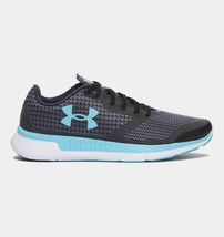 Under Armour Women's 1285494 076 Charged Lightning Shoes Gray/Black 5 M - $69.29