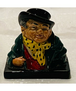 "Vintage Royal Doulton Tony Weller Bust Figure Mini Dickens Series 2.5"" I... - $29.80"