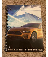 New Ford Mustang  Spiral 1 Subject Notebook Wide rule 70 Sheets New - $4.85