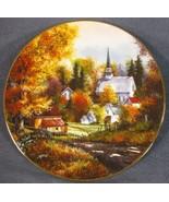 Autumn Grandeur Collector Plate Season Of Splendor Kirk Randle 84-K41-153.1 - $17.95
