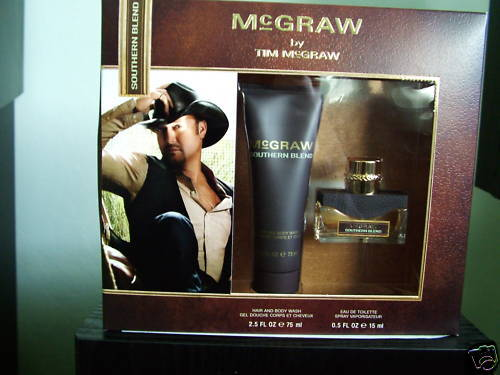 McGRAW *SOUTERN BLEND* by TIM McGRAW 2 PC EDT SET, NIB
