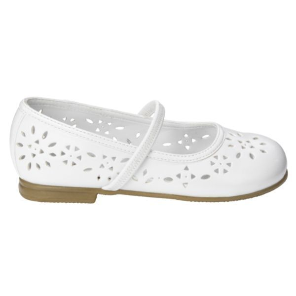 WonderKids Toddler Girls *Quintessa Chopout* Shoes, White Color, Size 6, NIB
