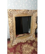 KULICKE COLLECTION GOLD FRAMED MIRROR IN LOUIS 14TH XIV PROVINCIAL STYLE... - $49.45