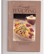 Simply Tempting 40 Simple & Sensational Recipes From Nestle  - $2.50