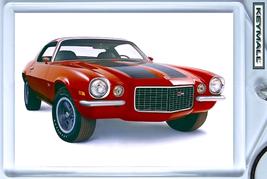 KEYTAG 70/1970/71  RED CHEVY CAMARO Z28 KEY CHAIN PORTE CLE - $9.95