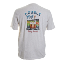 Tommy Bahama Men's Double Play T-Shirt , Oatmeal Heather , Small - $34.10