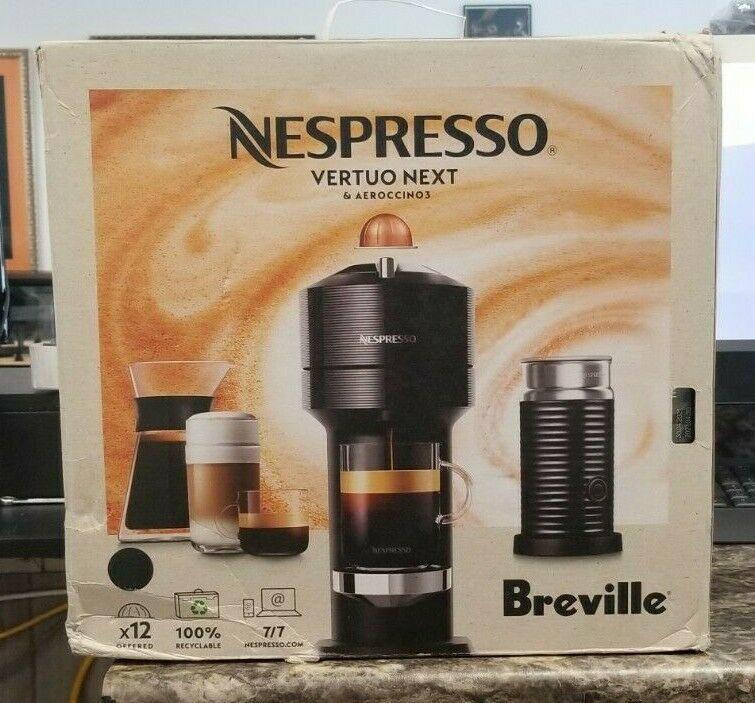 Nespresso by Breville Vertuo Next Classic Coffee & Espresso Machine Bundle Black - $163.34