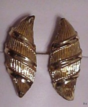 Gorgeous Goldtone Vintage CORO Earrings - $35.00