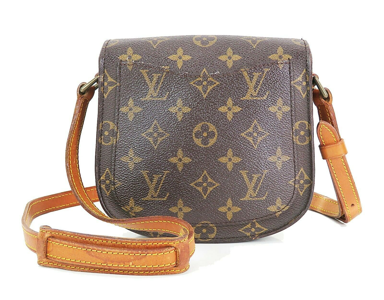 Authentic LOUIS VUITTON Saint Cloud PM Monogram Shoulder Bag #35015 image 3