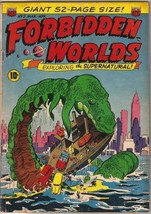 Forbidden Worlds Comic Book #5, ACG 1952 VERY GOOD - $116.02