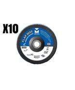 "Mercer Abrasives Flap Disc Premium Zirconia 7"" 40 Grit Max RPM 8,500 Lot... - $66.49"