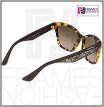 MIU MIU PAVE EVOLUTION MU 06R Square Brown Havana Silver Rock Sunglasses MU06RS image 6